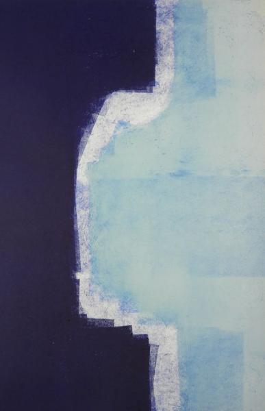 Untitled , MonotypeOn Cartridge Paper, 45x65cm