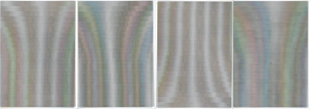 Word Document#1, Inkjet print on A4 office paper, x4, 2014