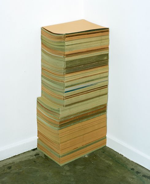 English Files  , Monoscreenprint On Office Paper Files, Unlimited Edition, Ongoing