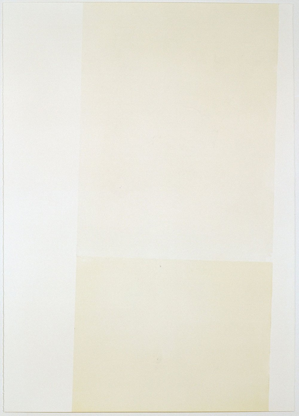Two Thirds , Monotype On Fabriano Rosaspina, 70x100cm, 2014