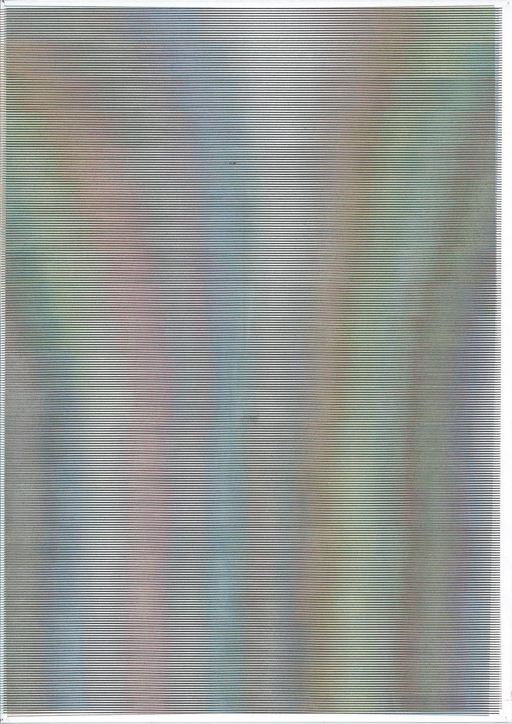 Word Documents , Inkjet print on A4 200g Fabrianno paper, 2015