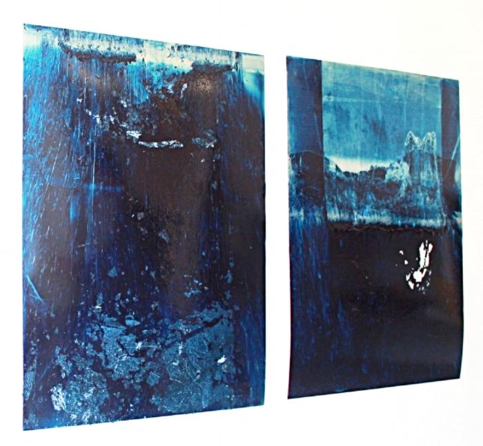 Untitled , Oil Over Aluminium Plaque, 2011