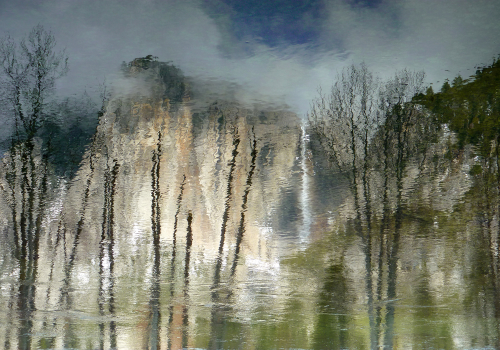 Yosemite Falls Reflection, CA 1st Place