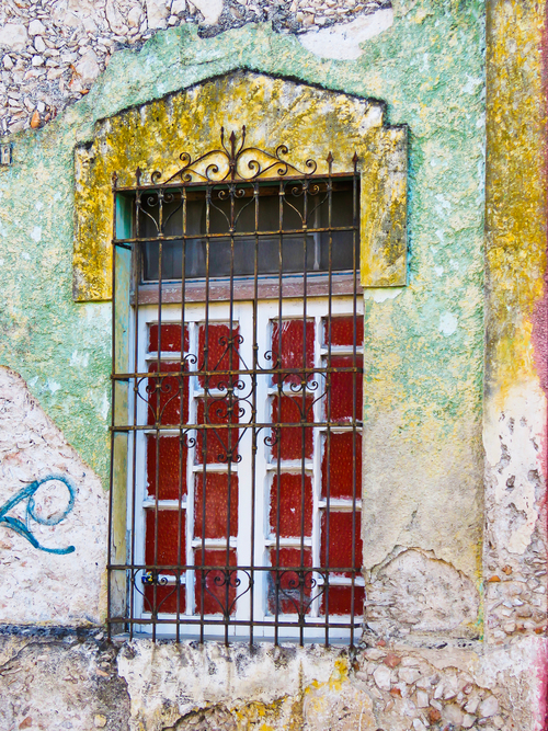 Red Window, Merida, Mexico