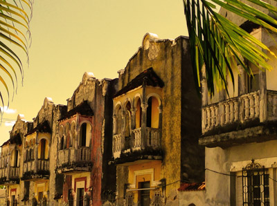 Merida Facade, Mexico