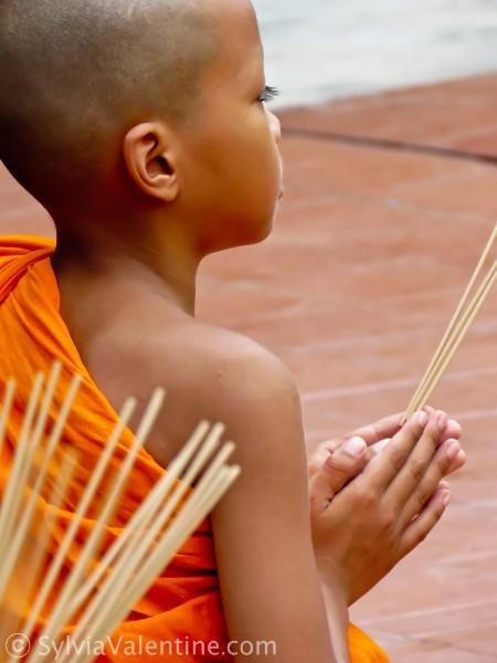 Monk Boy Thailand