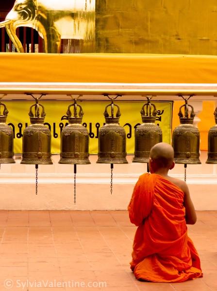 Monk Prayer Thailand