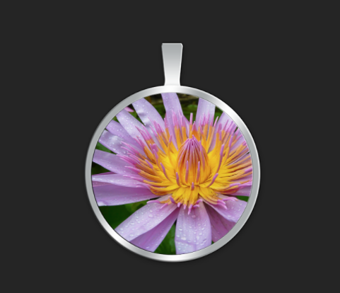 Kauai Lotus medium round $40