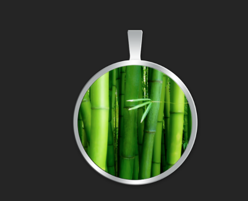 Bamboo small round $35