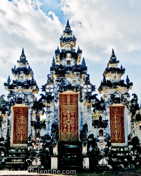 Spires Temple Bali