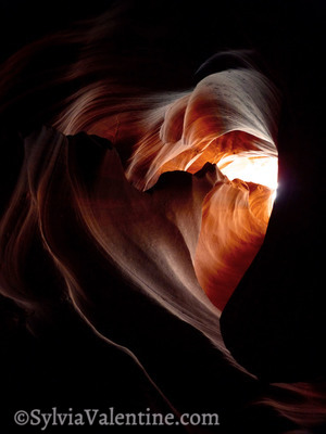 Heart of Antelope Canyon