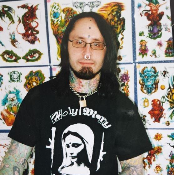 Circa 2005, Joshua Coburn, Slingin' Ink Tattoos.