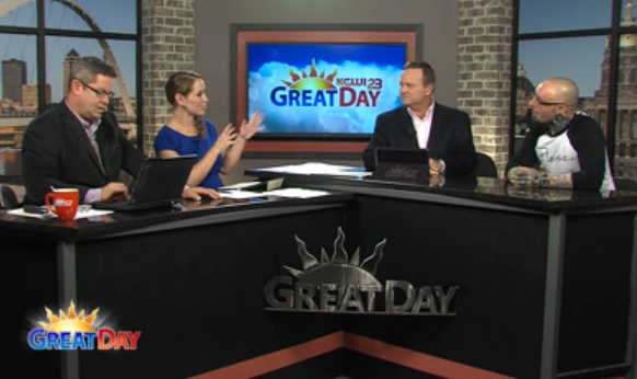 Joshua Coburn on Great Day Live discussing Manners & Motivation and Making Kindness a Way of Life!