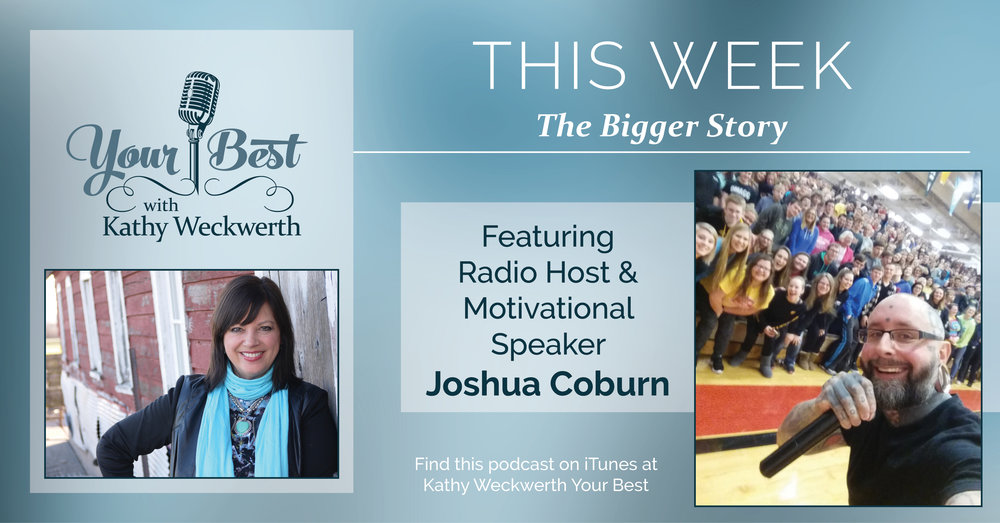 Joshua Coburn talks kindness, unity, & bringing the world together!