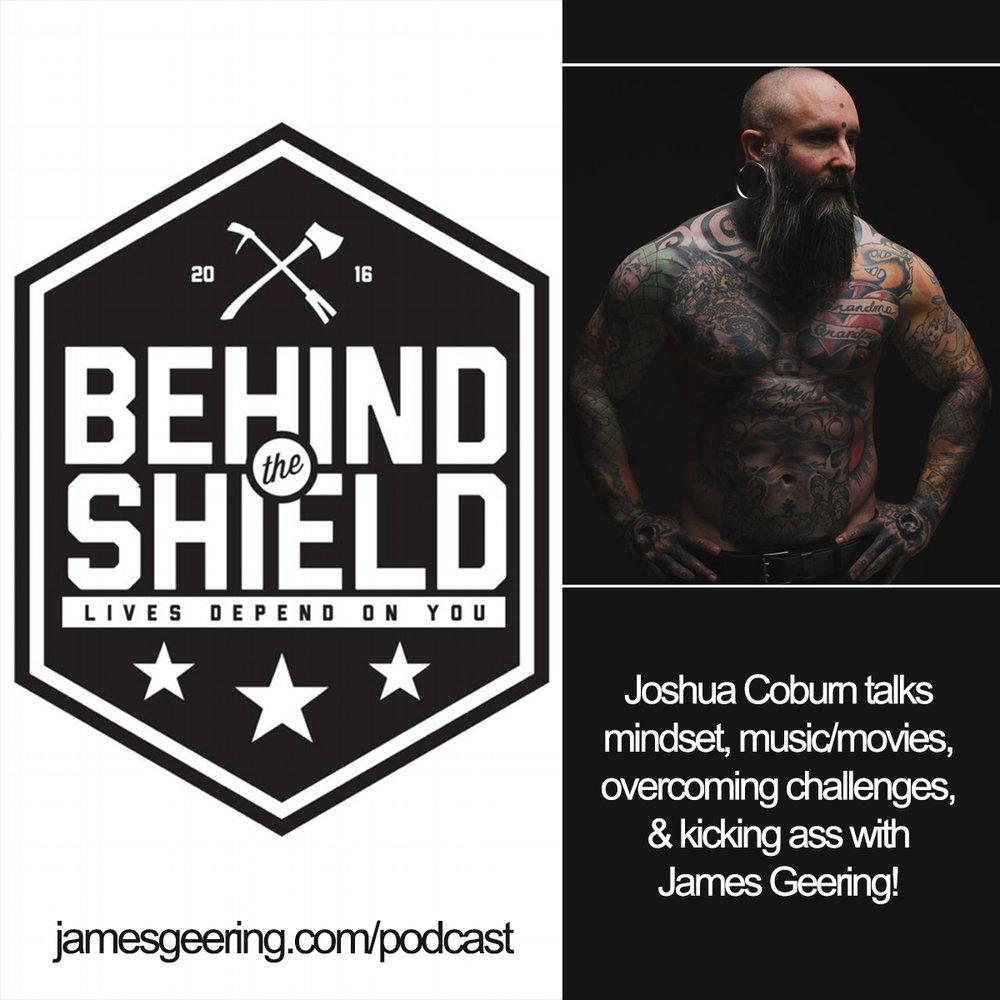 Joshua Coburn:  Behind the Shield