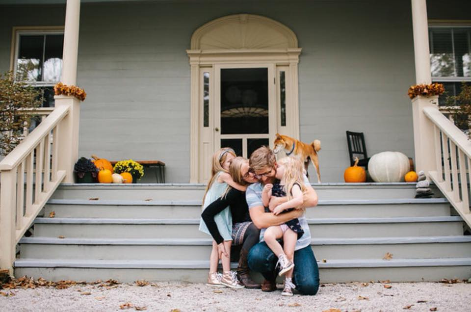 """Ray Family - Whitney did an amazing job capturing the """"realness"""" of our family at our new home - and made beautiful, natural photos of our kiddos even when they were wound for sound and showing off - she's a miracle worker!"""
