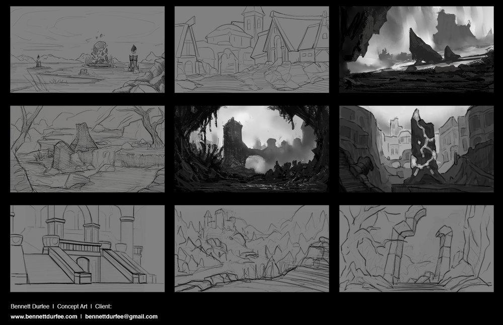 Environment Sketching