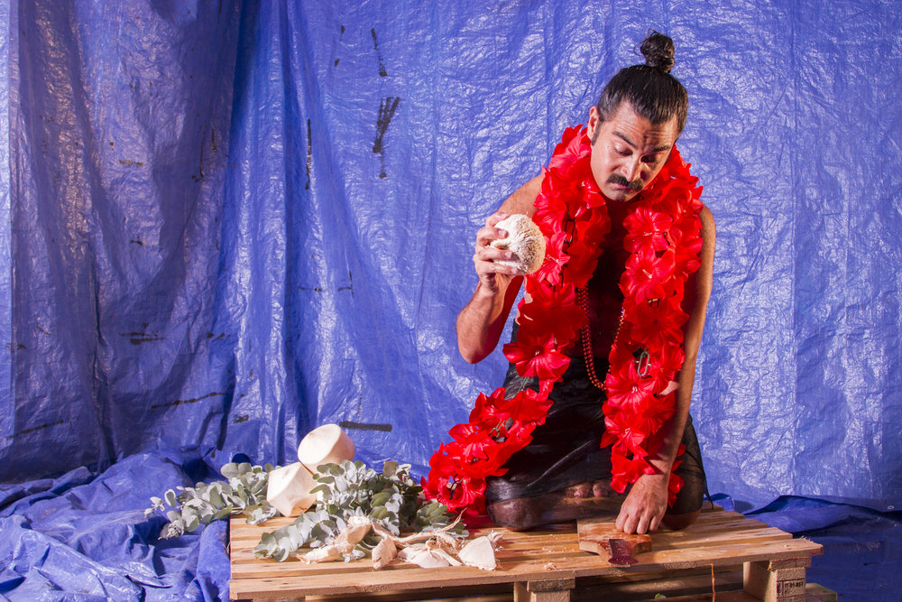 vaimea for Lukautim Solwara (2017), an Asia Pacific Triennial of Performing Arts commission with Next Wave. Photo courtesy of Steven Rhall.