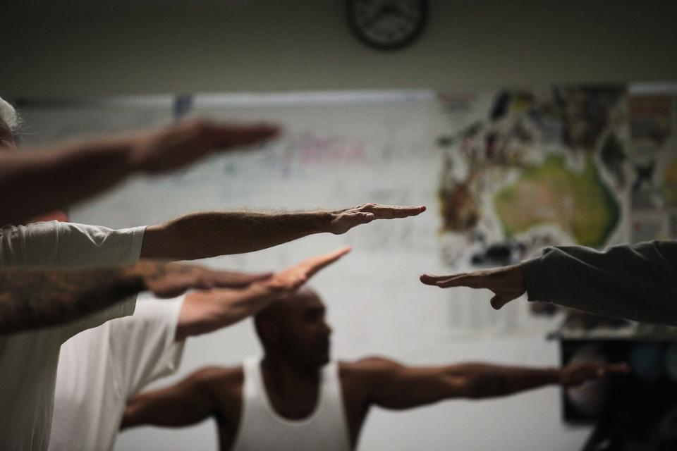 Image from The Prison Yoga Project