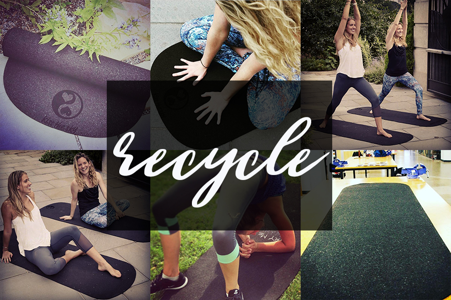 Recycled Rubber CustomYoga Mats