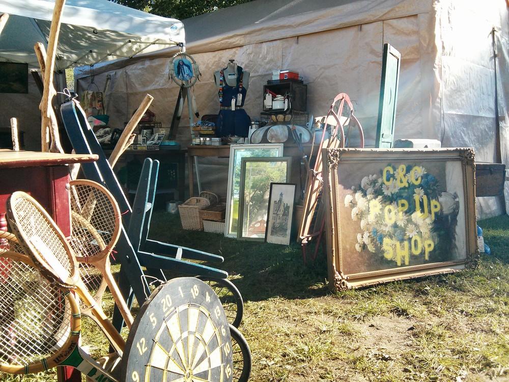 Brimfield Antiques Show � C&C