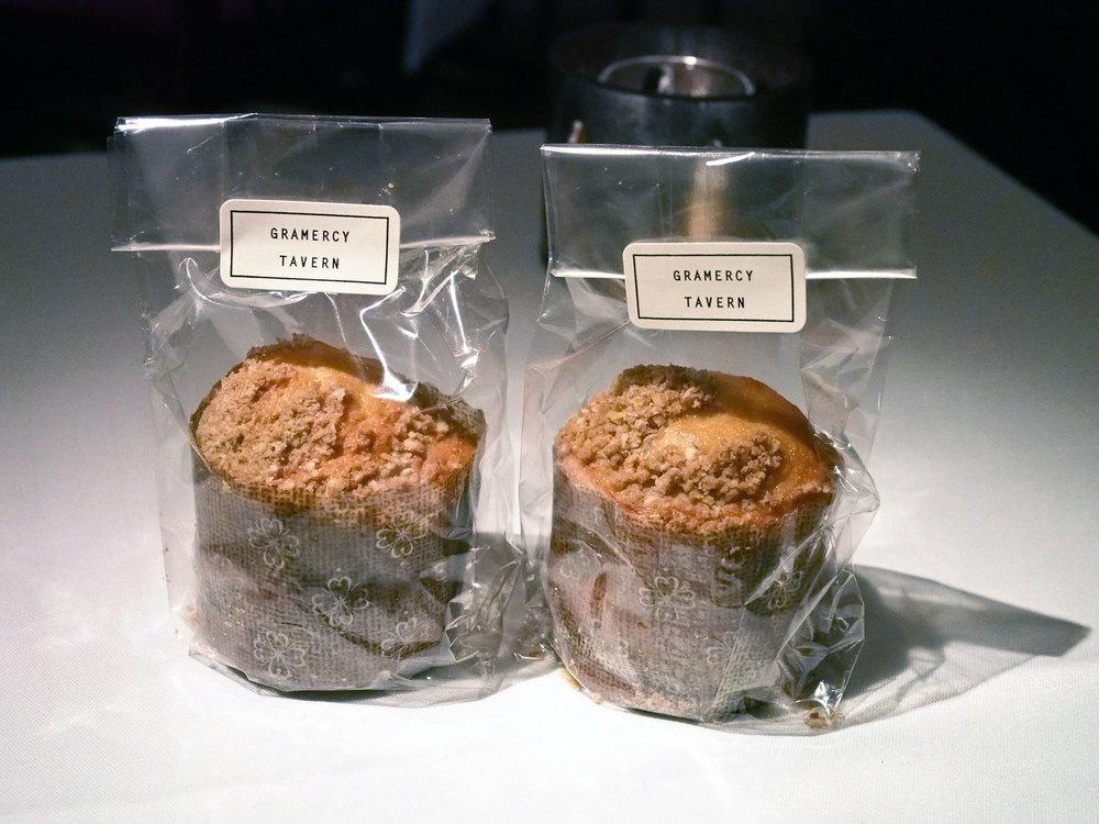 The signature Gramercy Tavern muffins