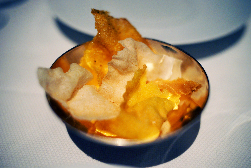 Chips – carrot vadouvan, onion, delicata squash, watermelon radish