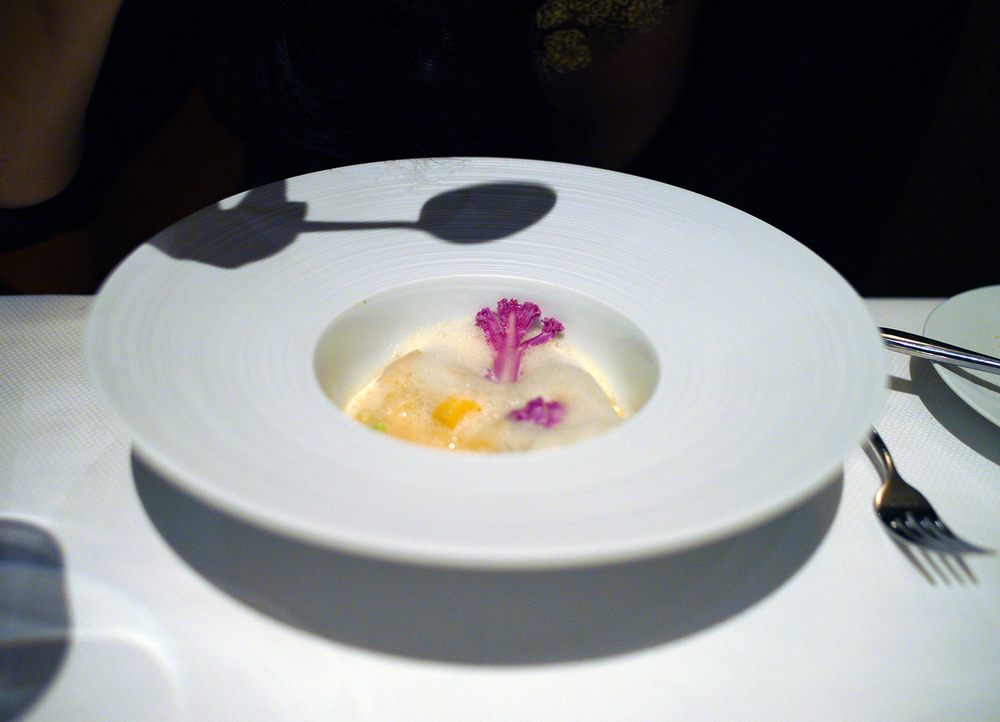 Trofie – Nantucket bay scallop, crosnes, yuzu