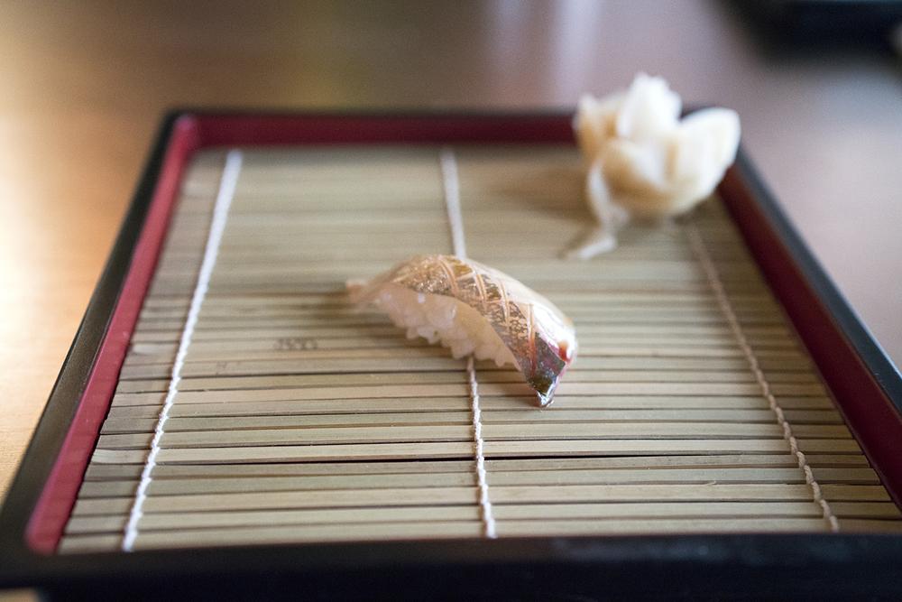 Shima Aji (Striped Jack Fish) - Backside
