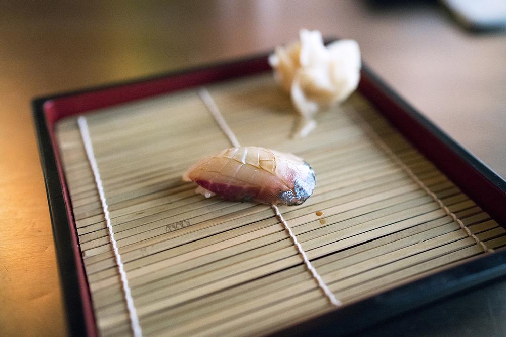 Shima Aji (Striped Jack Fish) - belly
