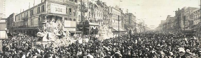 World War I Liberty Bond Parade on Canal Street