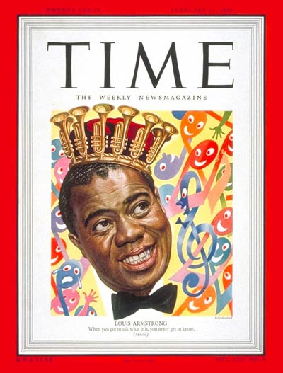 TIME Magazine Cover: Louis Armstrong -- Feb. 21, 1949