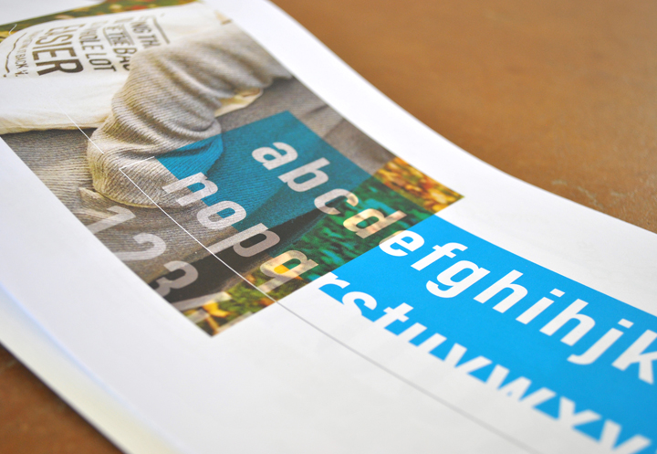 Din A Brief Synopsis Patrick Dewenter Graphic Design Print