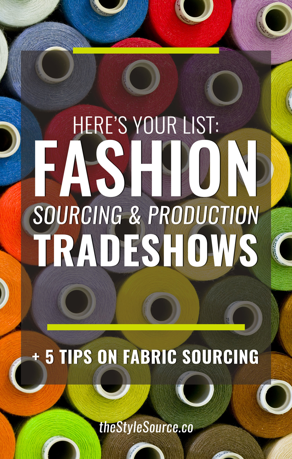 Sourcing Production Trade Shows