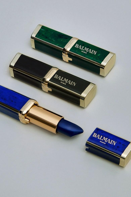 Balmain's lipstick collaboration with L'Oréal Paris //Photo:Hanna Tveite