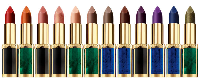 Balmain x L'Oreal Paris Color Riche Lipsticks