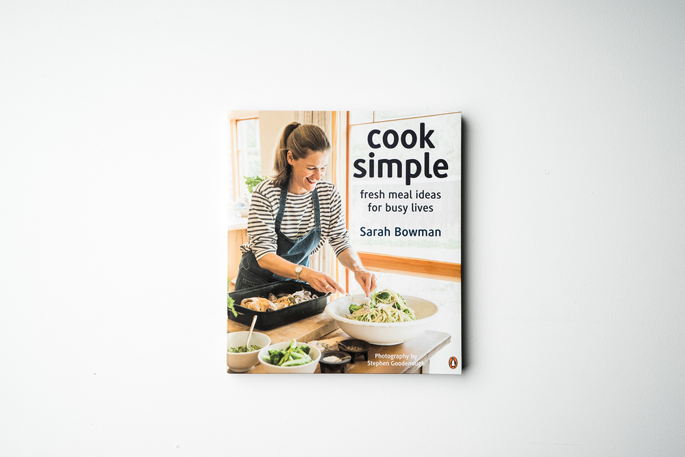 "Sarah Bownan 'Cook Simple"" 2013"