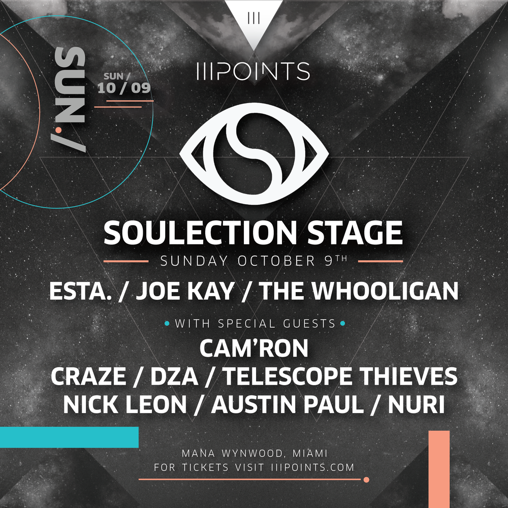 III Points_Soulection Stage Flyer.png