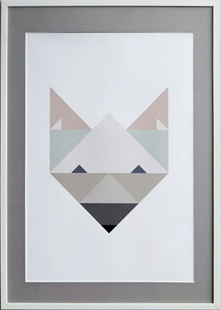 Silke Bondes poster Fox.