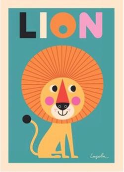 Lejonposter av Ingela P. Arrhenius.