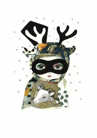 Bandit deer girl av Kollijox.