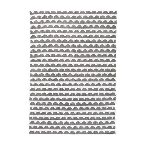 Matta från Ellos  med tryckt, retroinspirerat mönster, 699 kr.