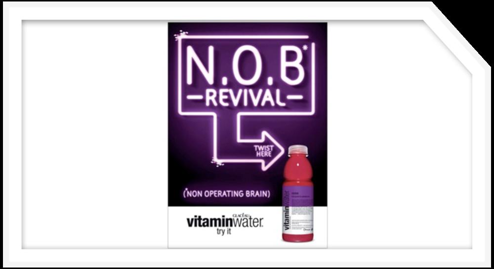 Bulletproof + vitaminwater