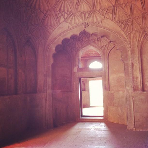at Humayun's Tomb