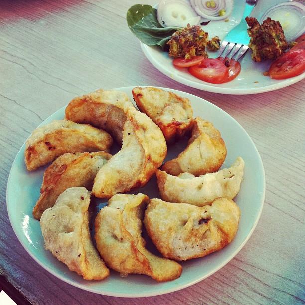 Meet momos (Tibetan dumplings)