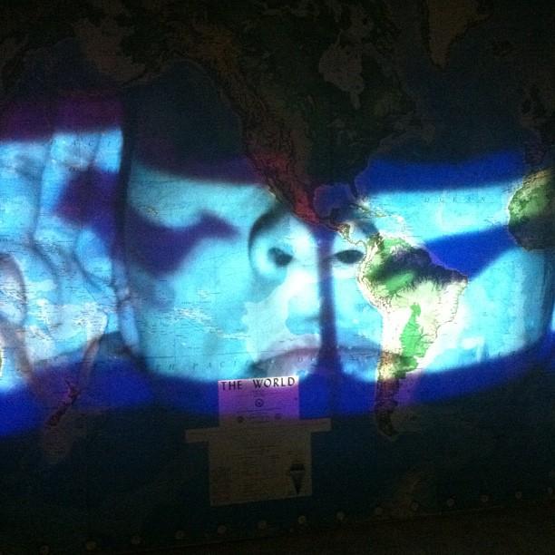 Nalini Malani @kochibiennale #contemporary art (at Aspinwall House)