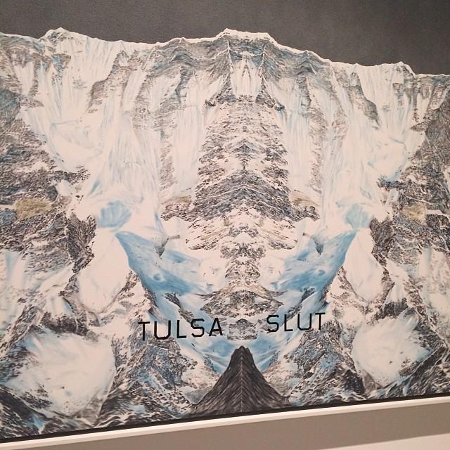 Oh #edruscha  (at Museum of Modern Art (MoMA))