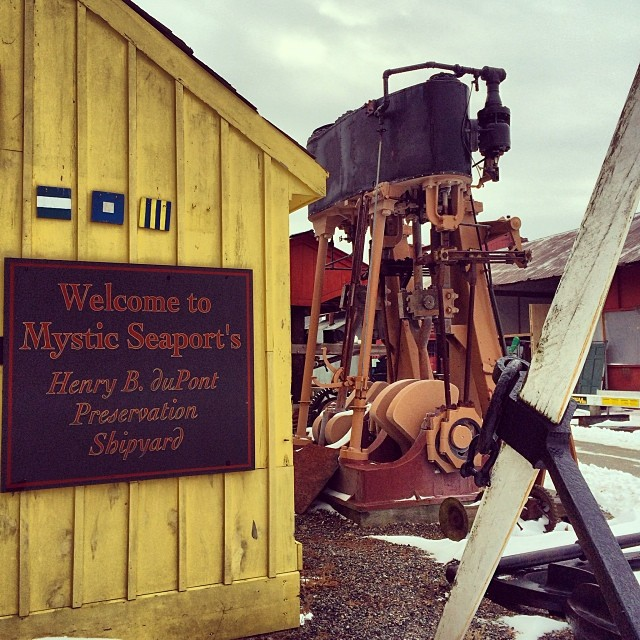 Mystic. #shipbuilding