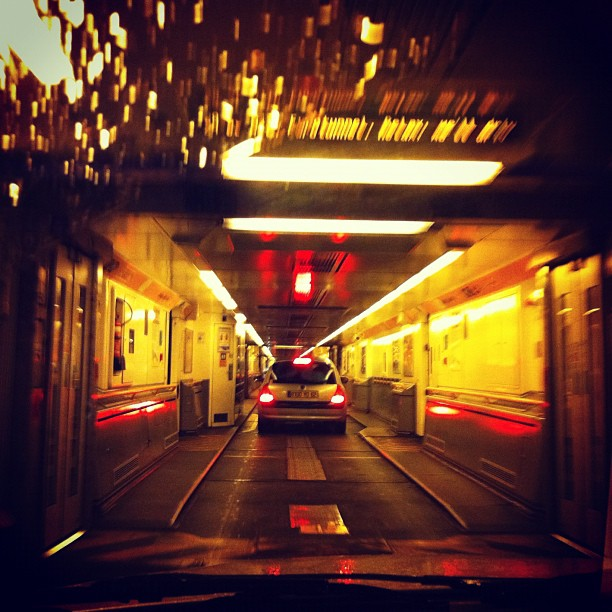 Back to the future (Taken with  Instagram  at Eurotunnel Freight)