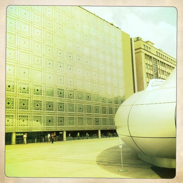 L'institut du monde arabe. Paris